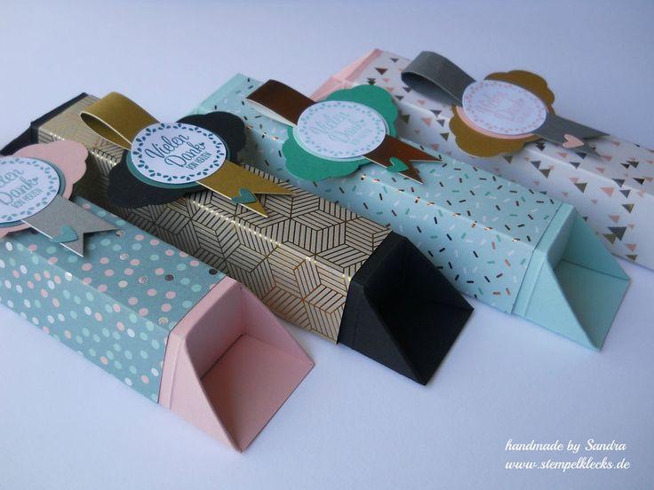 schokoladenverpackung ohne zu kleben papier basteln. Black Bedroom Furniture Sets. Home Design Ideas