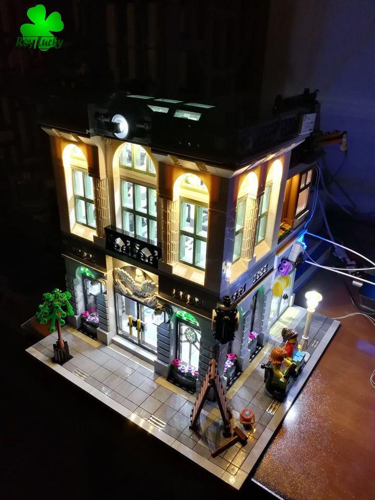 LED Light Kit Only For Lego Creator Brick Bank Model 10251