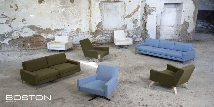 BOSTON waiting furniture by Domingo