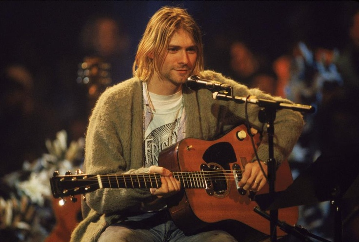Kurt Cobain: Happy Birthday, Fashion Icons, Nirvana, Left Hands, Kurtcobain, Acoustic Guitar, Photo, Mtv Unplugged, Kurt Cobain