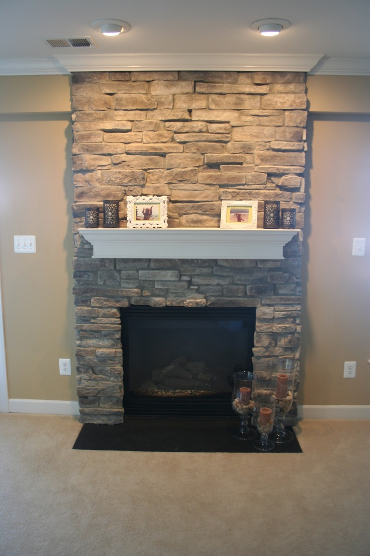 How To Put Stone Veneer On A Fireplace Woodworking Projects Plans