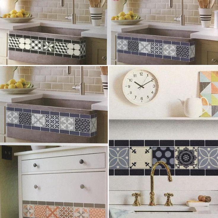 Ano novo, decoração nova! 😄Estes adesivos horizontais vão dar outra cara à sua cozinha, banheiro, pia ou móvel! Cada adesivo mede 12cm de altura por 30cm de comprimento. Venha escolher os seus!! 😉💠😍💠 🏬 R. Guilherme Moreira, 150, Centro-Manaus 🇧🇷 - ☎️ (92) 3347-0001. #Kazanto #Manaus #kazantomanaus #azulejos #azulejo #azulejoadesivo #adesivodeparede #adesivo #cor #parede #wall #mur #decoration #decoração #decor