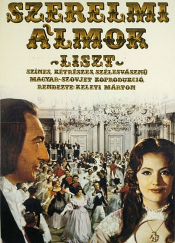 "5_liszt_1970.jpg ""The Loves of Liszt"" (1970) Directed by Marton Keleti Hungary/USSR Filmed on 70mm negative film"