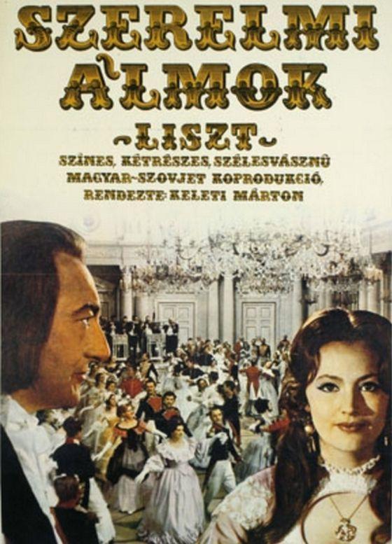 """5_liszt_1970.jpg """"The Loves of Liszt"""" (1970) Directed by Marton Keleti Hungary/USSR Filmed on 70mm negative film"""