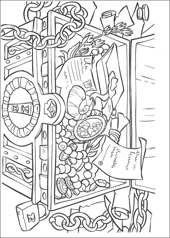 pirates of the caribbean disney coloring page - Pirates Of The Caribbean Coloring Pages