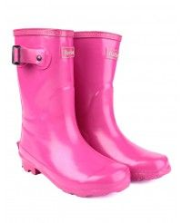 Kids   Barbour Girls' Bede Wellington Boots - Pink CRF0009PI51