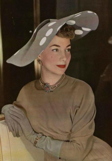 Gilbert Orcel, 1948.  Couture Allure Vintage Fashion