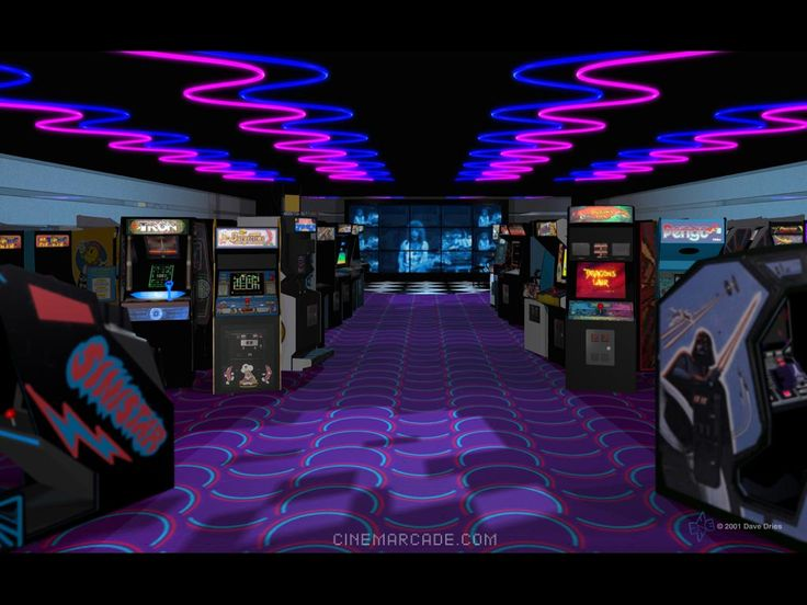 The Classic Video Arcades of the 80's.  Not many of them around anymore but not totally extinct yet.