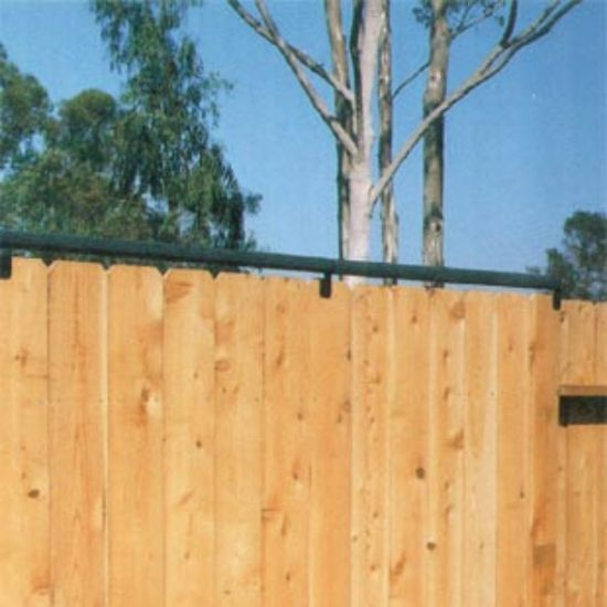 coyote rollers keeps dogs in coyotes out fence rollers los angeles ca