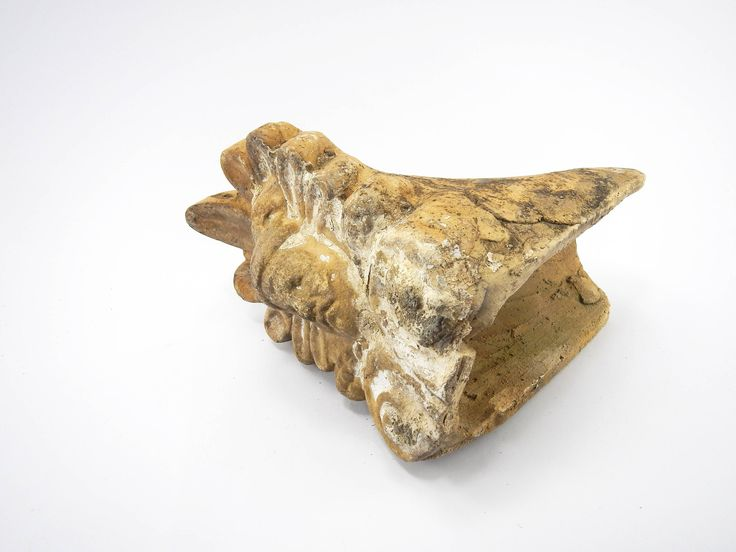 Excited to share the latest addition to my #etsy shop: Antique Greek Hermes Antefix, akrokeramo, Antique terracotta Antefix, Old Ceramic Antefix, Greek God, Hermes, Architectural salvage, tiles