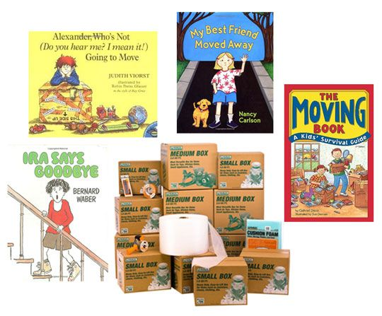 books to help kids cope with a move   AT .... there's a good chance we'll move at some point in the future so saving this for reference