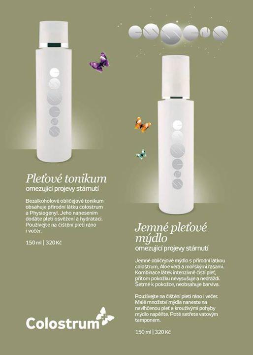 Essens anti-aginf kosmetika - Pleťové tonikum - Jemné pleťové mýdlo - Více o Essens na www.essensclub.cz