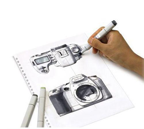 leManoosh dibujo de cámara
