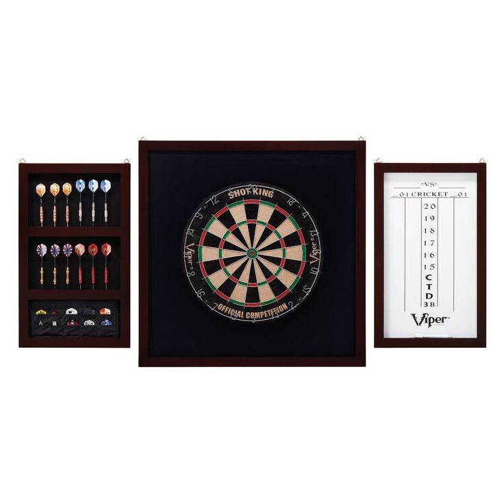 Viper Championship Deluxe Large Dart Board Backboard - 41-0605