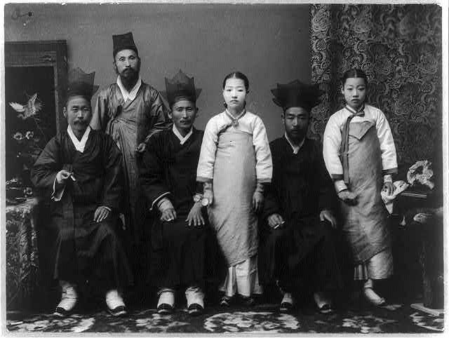 Vintage photo--Korea
