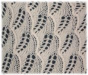 knitted lace patterns (even though knitting lace can be incredibly frustrating!)