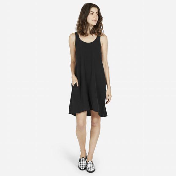 The Silk Tank Dress - Everyone. $88