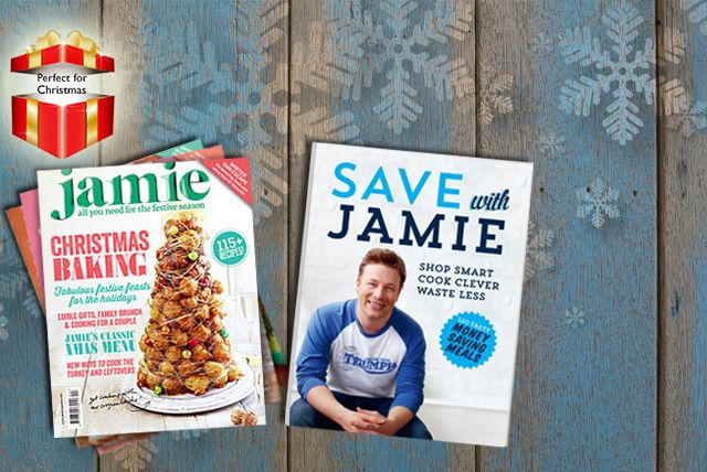 Jamie Oliver 1yr Subscription & Book