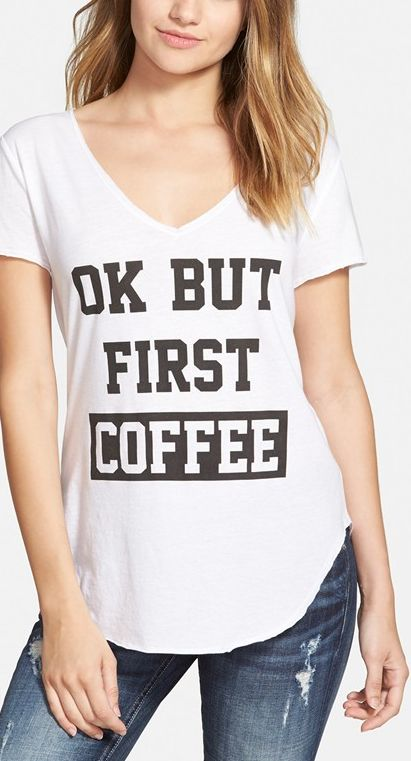 But first, coffee. #coffeebeforetalkie ☕