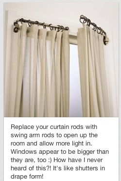 great idea, esp. over doorways to prevent