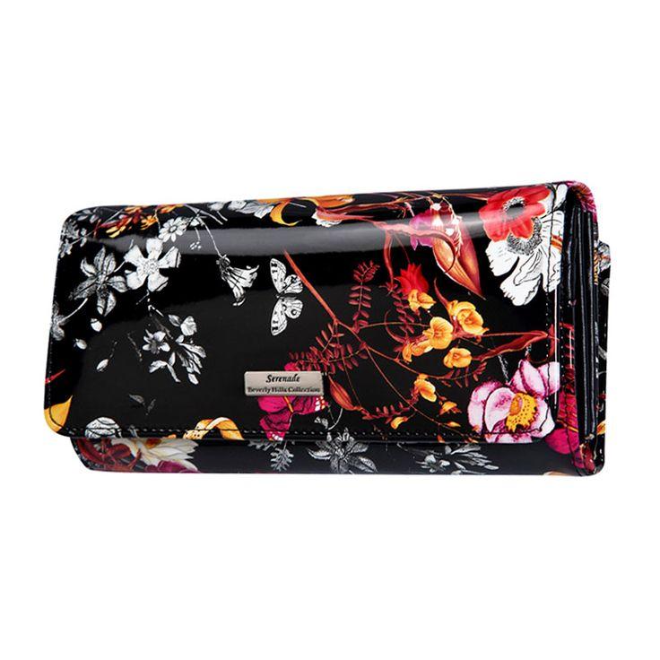 Serenade - Secret Garden Large Classic Leather Wallet