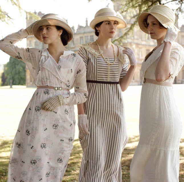 summer at downton abbey: Fashion, Downtonabbey, Style, Dress, Costume, Downtown Abbey, Downton Abby, Downton Abbey