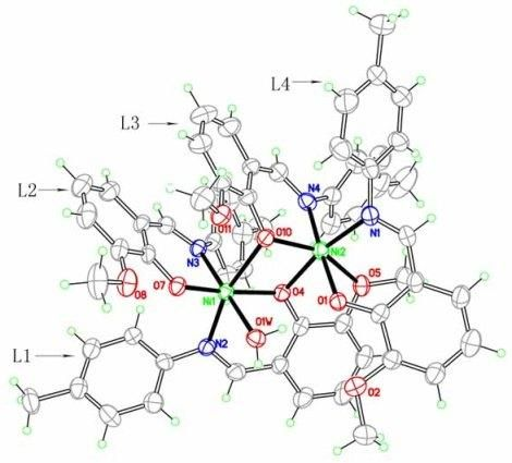 Molecules | Free Full-Text | Synthesis, Crystal Structure, and Kinetics of the Thermal Decomposition of the Nickel(II) Complex of the Schiff Base 2-[(4 Methylphenylimino)methyl]-6-methoxyphenol