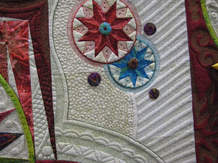 Close up of Super Star by Marilyn Badger & Claudia Clark Myers