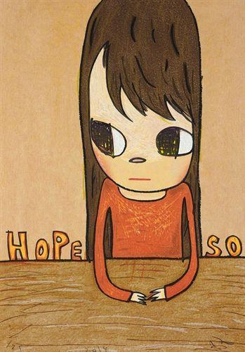 Hope So by Yoshitomo Nara on artnet Auctions