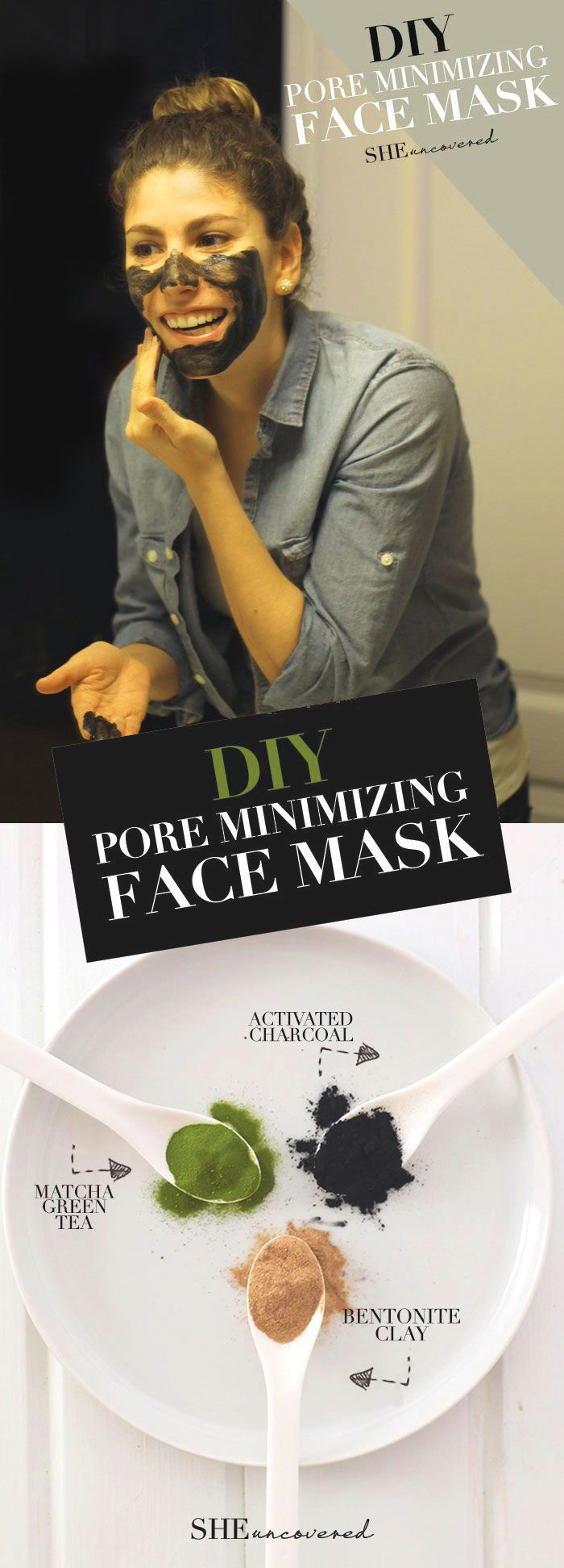 DIY Pore Minimizing Face Mask | #Homemade #Face_Mask Recipes for Beautiful #Skin