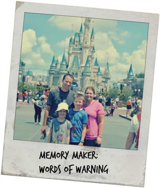 Words of Warning for Sharing your Memory Maker - Tips for those who purchase the Memory Maker photo package when traveling to the Walt Disney World Resort.
