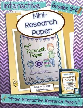 writing a research paper + kids We help children grow into responsible, independent young adults who value their  a research paper is a piece of writing that provides information about a .