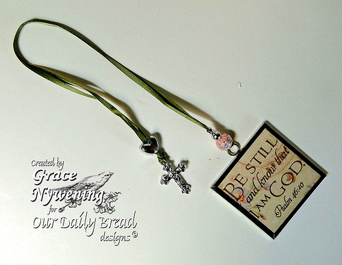 Book Mark with tutorial at http://ourdailybreaddesignsblog.blogspot.com/2012/02/time-with-grace.html