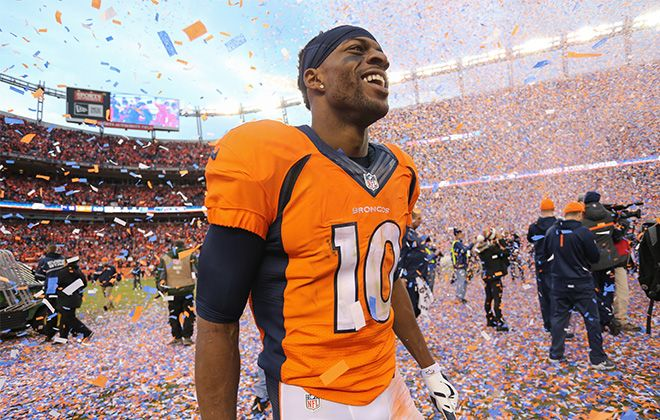 Here to Stay: Why Emmanuel Sanders chose to resign with the Broncos                                                                                                                                                                                 More
