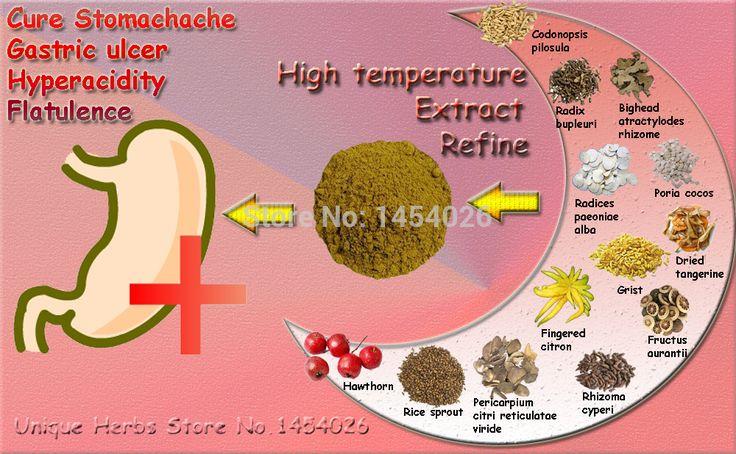 Ingredienti naturali A Base di Erbe per Curare Problemi di Stomaco, cuore Bruciare, ulcera e Mal di Stomaco, curare Indigestione, aumentare L'appetito