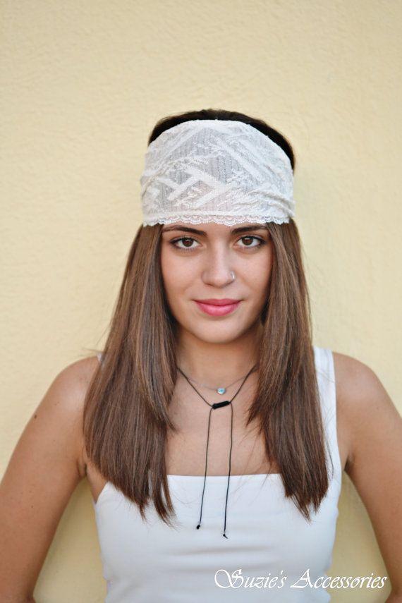Wedding Headband Bridesmaid Headband Head by SuzannasAccessories
