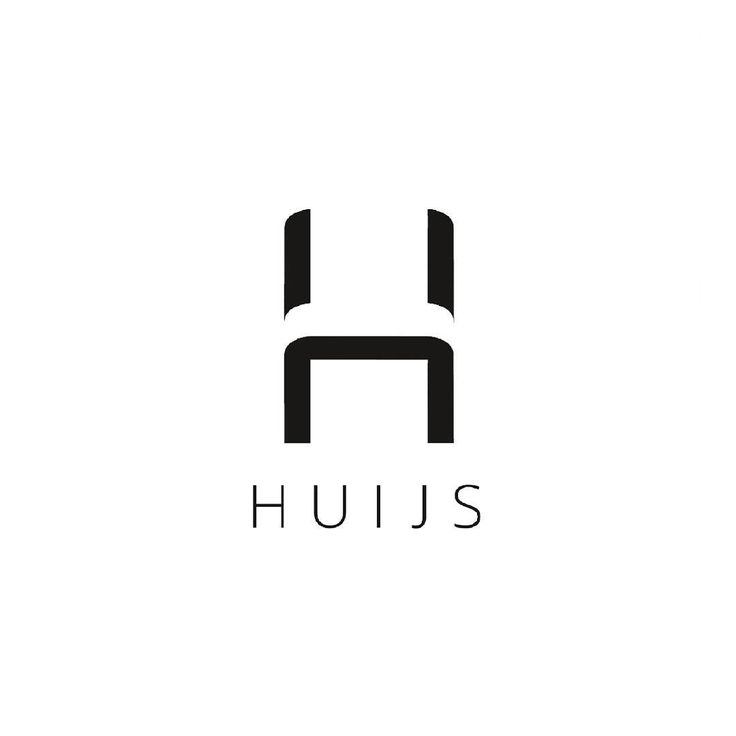 Logo I did for an Interior Outfitting company, Huijs.    #logo #design #logodesign #interior #iluvmakinstuff #interiordesign #itsallinthespacesinbetween