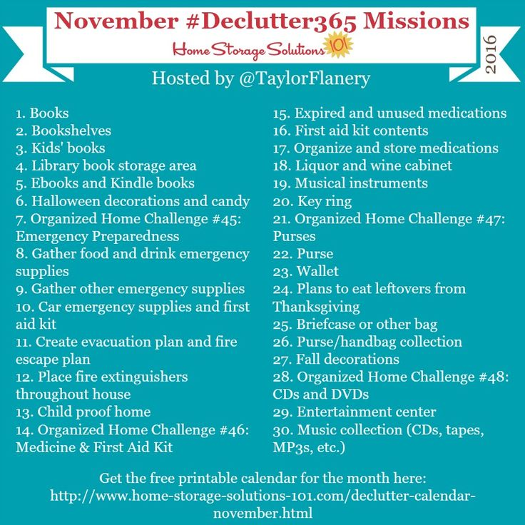 Join The #Declutter365 Missions On Instagram And Show Off What You  Declutter. Here Are