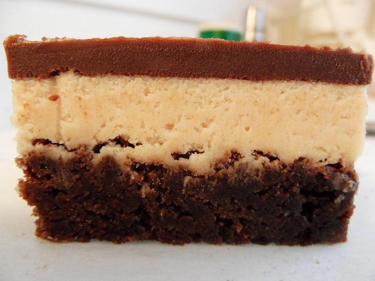 Peanut butter truffle brownies | I love, love, love, food! | Pinterest