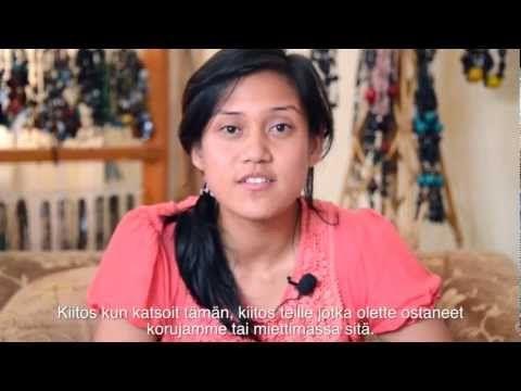 Video joss kerrotaan Princess Beadsin työstä Nepalissa Autolla Nepaliin // Store of Hope - Princess Beads