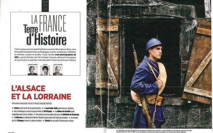 Reportage dans le magazine Géo de novembre. Connaissance de la Meuse à l'honneur !