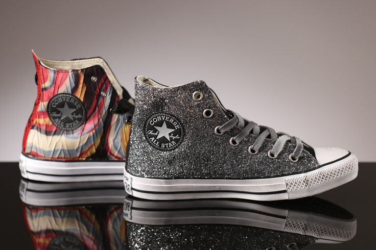 High tops in high style for her! Converse has your look!