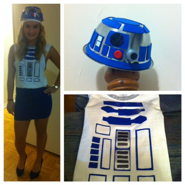 69 best for the girls images on pinterest costume ideas star diy r2d2 halloween costume bowl from the dollar store with foam pieces and painted things from solutioingenieria Image collections