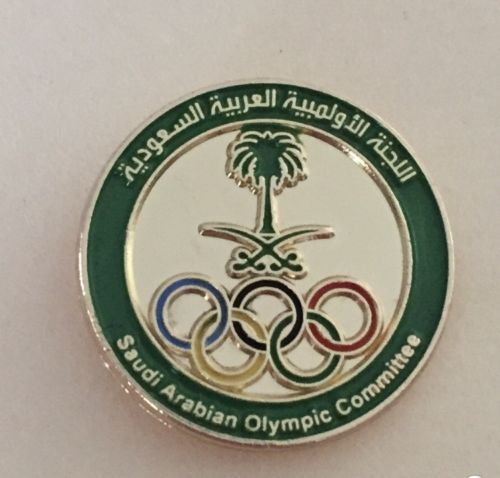 Saudi Arabia NOC Olympic Team PIN - from Rio 2016