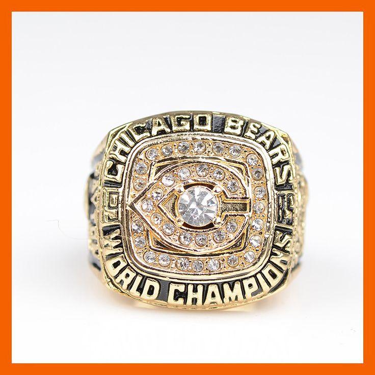 1985 CHICAGO BEARS SUPER BOWL XX WORLD CHAMPIONSHIP RING