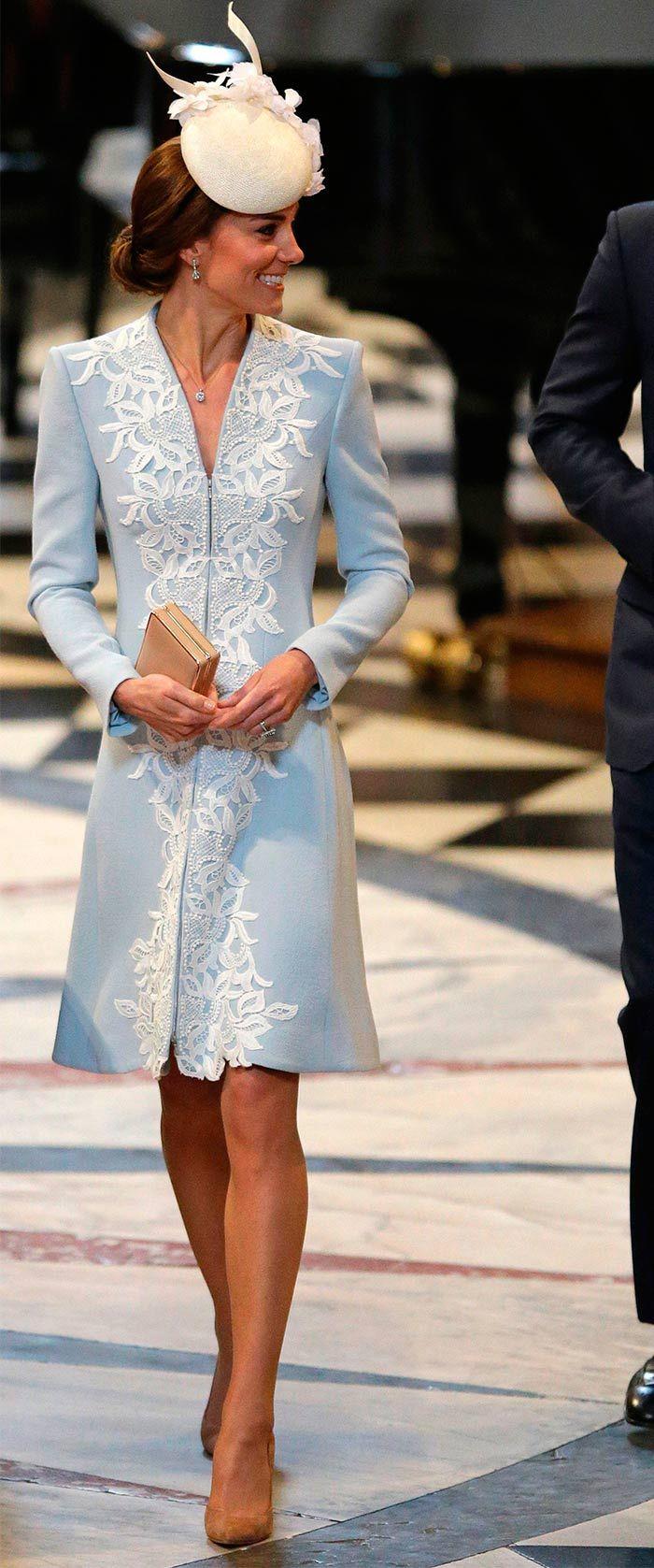 Desfile de glamour 'British' en el servicio de cumpleaños de la Reina Isabel