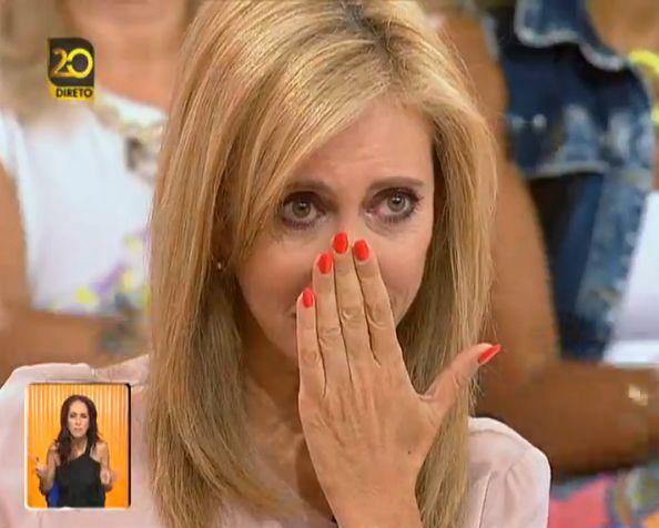 Manuel Luís Goucha defende Judite Sousa após entrevista a Lorenzo e leva jornalista às lágrimas
