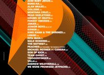 Plisskën Festival 2012 Full Line Up Poster
