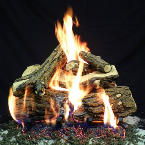 By Gracie Shepador | Enjoy a hearth fire with these natural gas vent free fireplace logs that add the warmth and ambiance of a fire without the hassle.