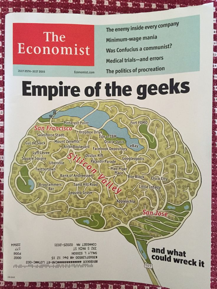 Our new cover Empire of the geeks